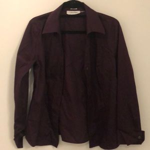 Eggplant/Purple Work Shirt - Never worn